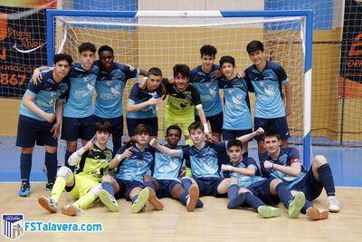 FUTSAL | El Burguer MCQueen's FS Talavera se proclama campeón de su grupo en juvenil autonómica