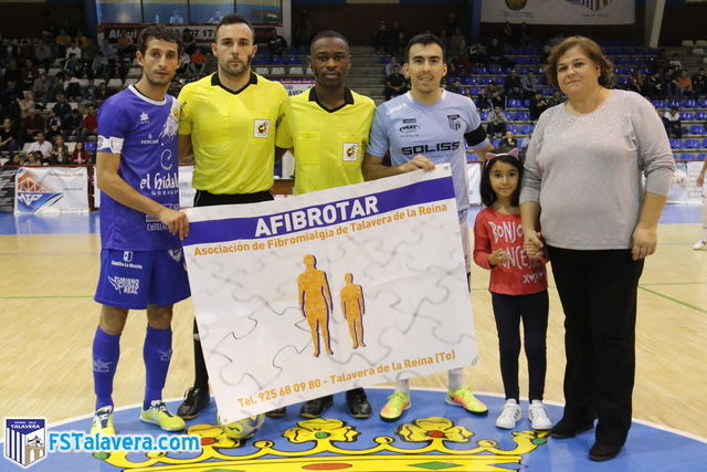 El SOLISS FS TALAVERA inició la temporada del 'jugador número seis' con la visita de AFIBROTAR