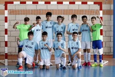 El infantil del Soliss FS Talavera conquista la victoria de su grupo