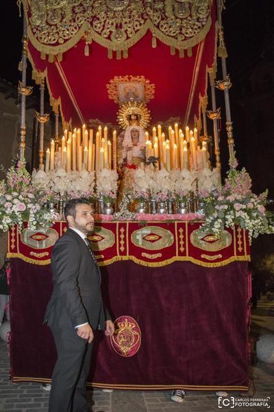 Las cofradías de Regantes y Cristo de la Salud protagonizaron la emotiva procesión del Martes Santo (VÍDEO)