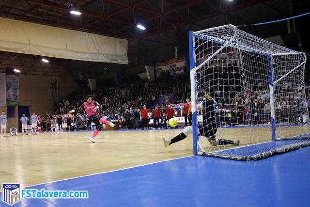 El Soliss FS Talavera se queda a seis metros de la 'Final Four'