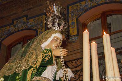 La Dolorosa y el Cristo de la Misericordia llenan de 'Pasión' el Jueves Santo