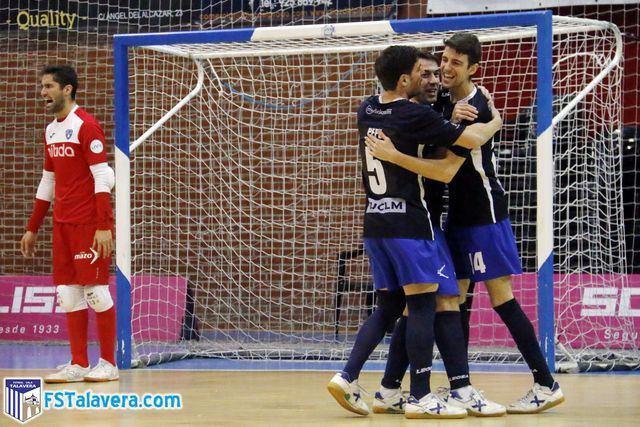 El Soliss FS Talavera supera al Nítida Alzira en un encuentro de poder a poder