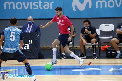 FÚTBOL SALA | El Soliss FS Talavera juega hoy en Navalmoral de la Mata