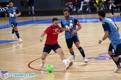 FÚTBOL SALA   El Soliss FS Talavera se estrena en pretemporada con derrota ante el Movistar Inter