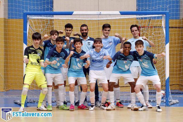El cadete del Soliss FS Talavera, campeón del Grupo I de la categoría Provincial