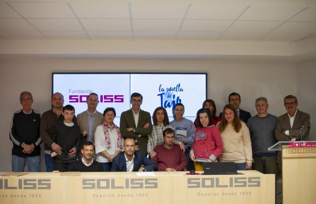 La Vuelta del Tajo entrega su recaudación a 3 entidades sociales en la sede de Soliss