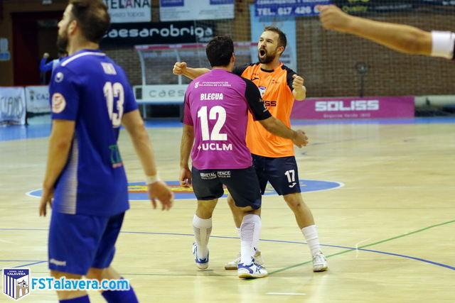 FUTSAL | El Soliss FS Talavera rescata un punto con el juego de cinco ante Ciudad de Móstoles