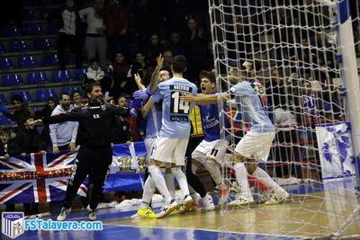 Victoria histórica del Soliss FS Talavera en la Copa del Rey