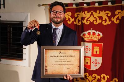 El medallista olímpico Alberto Fernández ya es Hijo Adoptivo de Illescas