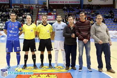ASPRODETA continúa con la iniciativa del 'Jugador Número Seis' del Soliss FS Talavera