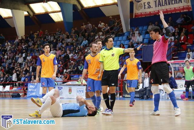 El Soliss FS Talavera no dio la talla ante Colo Colo Zaragoza y cae a puestos de descenso