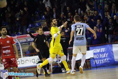 El Soliss FS Talavera firma un partido sobresaliente y golea Noia Portus Apostoli
