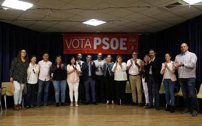 El PSOE presenta en Pepino su candidatura para las próximas elecciones