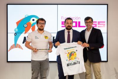 La Fundación Soliss apoya el Reto 70K contra la ELA en La Roda