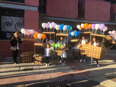 El carnaval llega al barrio de Santamaría y Patrocinio