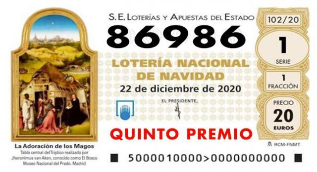 LOTERIA NAVIDAD | Ya ha salido el primer quinto... cae en Illescas