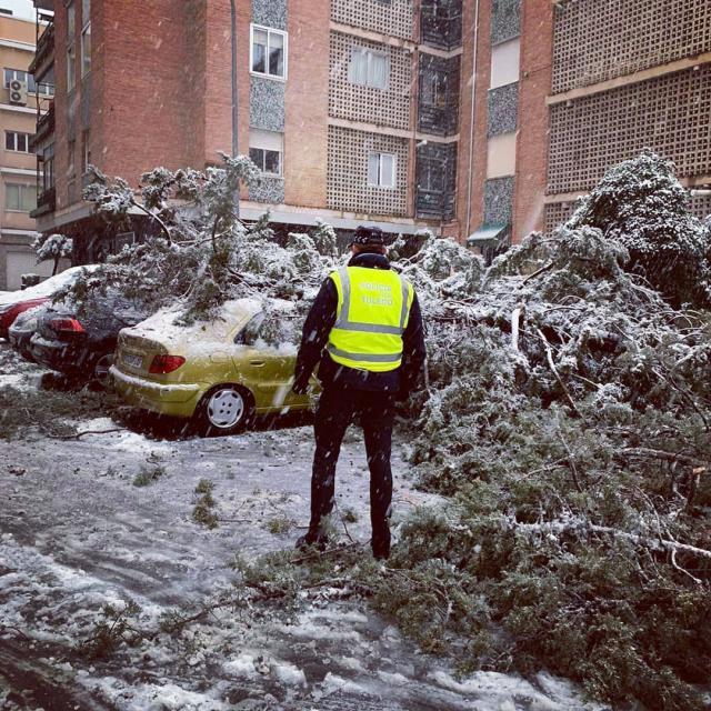 BORRASCA FILOMENA | El aviso de la Policía Local de Toledo a los ciudadanos