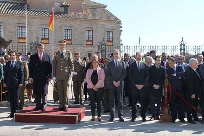 Velada celebra el I acto de Exaltación a la bandera española