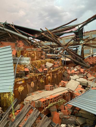 FOTO Y VÍDEO | Las tormentas azotan la zona de La Vera