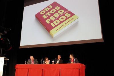 Voces estelares para presentar 'Objetos perdidos', el nuevo libro de Pachi Aldeguer