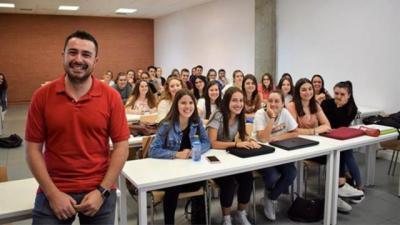 Abel Toledano, profesor de la UCLM en Talavera, opta al premio de mejor docente de España