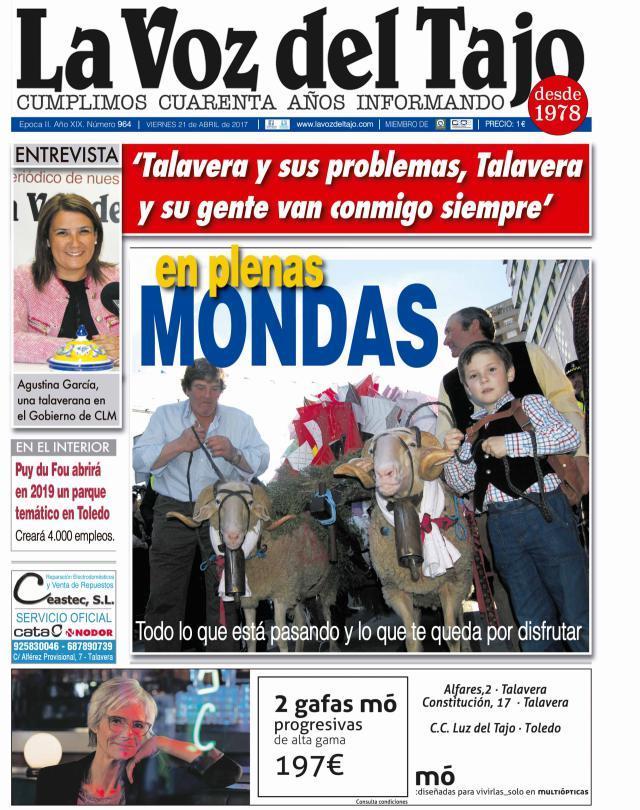 Portada abril | Talavera en Mondas -y la entrevista a 'Tita' García-