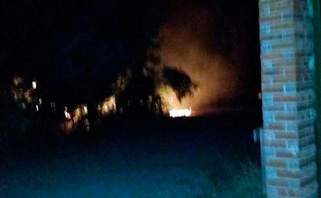 Dos incendios aparecen con la medianoche en Los Cerralbos