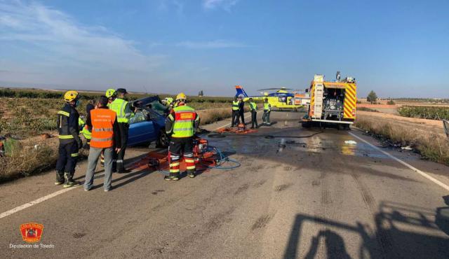 Muere la mujer herida en el accidente de Lillo: ya son 4 los fallecidos
