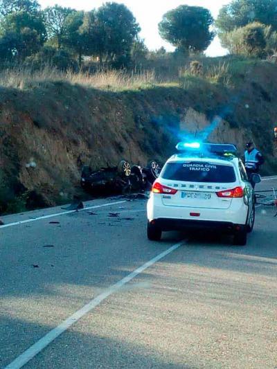 Accidente en el kilómetros 3 de la CM-4102