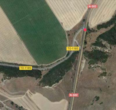Fallece un motorista en un brutal accidente cerca de Talavera