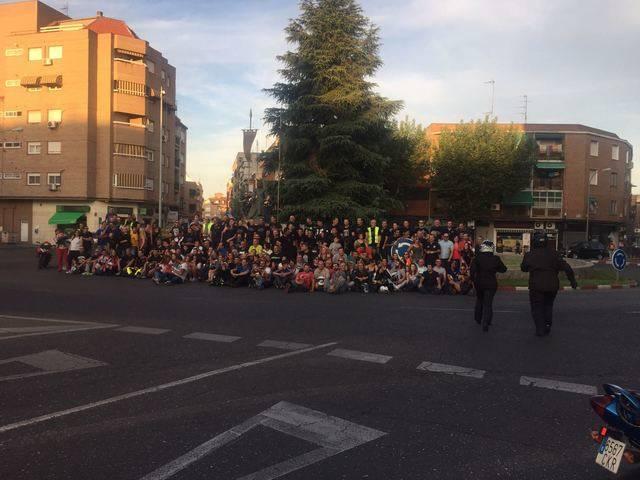 Se celebra el IX encuentro motero Puerta de Cuartos