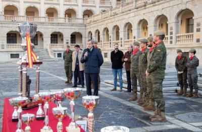 Eurocaja Rural, presente en la entrega de premios de las actividades de la Academia de Infantería