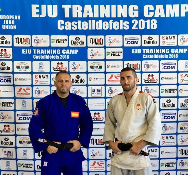 Adrián Nacimiento, a una medalla para clasificarse para el Campeonato del Mundo de Judo