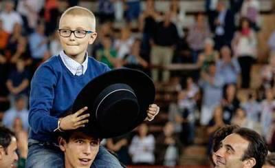 Fallece Adrián Hinojosa, el niño que quería dedicarse a la tauromaquia