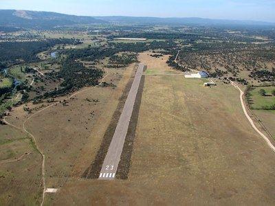Imagen del aeródromo de La Iglesuela