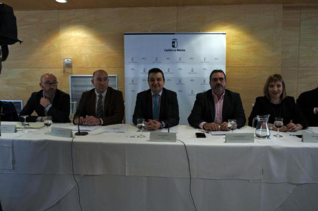 La Junta espera aprobar el documento de posición regional del agua consensuado en el mes de marzo