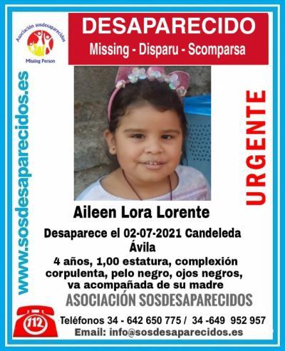 Buscan a una niña de 4 años desaparecida en Candeleda