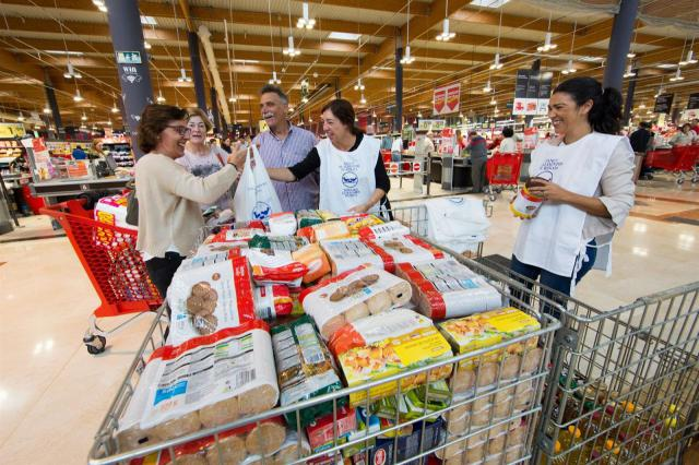 Los bancos de alimentos de C-LM hacen un llamamiento para conseguir voluntarios para la Gran Recogida 2019
