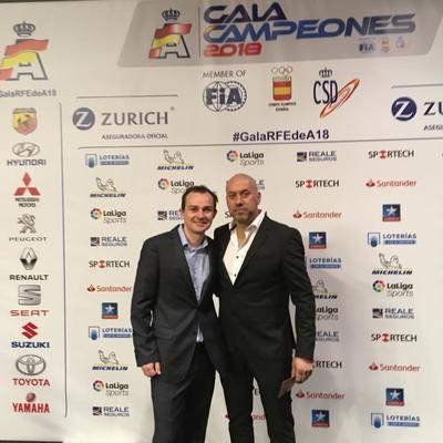 El talaverano Víctor Álvarez, premiado como subcampeón de España división I CEAX 2018