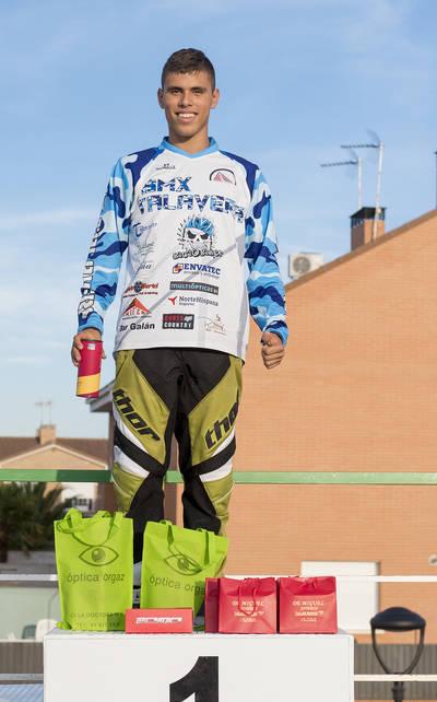 Tres podios para el BMX Talavera en la Copa de Madrid