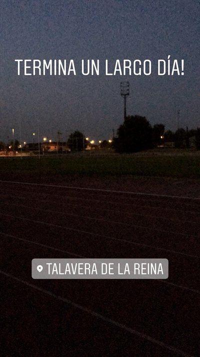 Alarza se ve obligado a entrenar sin luz y con riesgo de sufrir una lesión