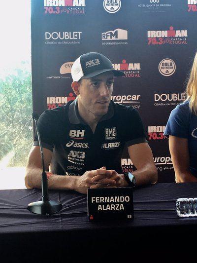 Alarza debutará en el Ironman portugués IM 70.3 de Cascais