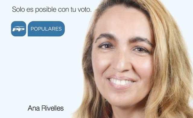 Cartel de campaña del PP en las pasadas elecciones.