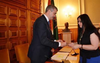 La alcaldesa de San Pablo de los Montes toma posesión como nueva diputada