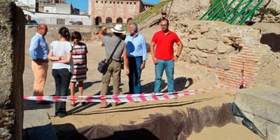 Ramos anuncia que la Alcazaba de Talavera se abrirá al público el día 3 de septiembre