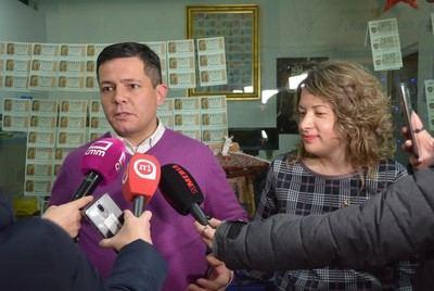 El 29.031 deja 60.000 euros en administración de Alcázar, que lo vendió porque se habían agotado los números iniciales