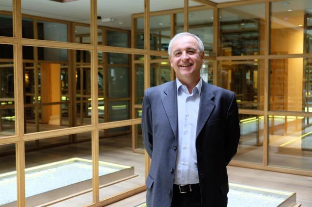 El presidente de Aldeas Infantiles SOS de España, el conquense Pedro Puig