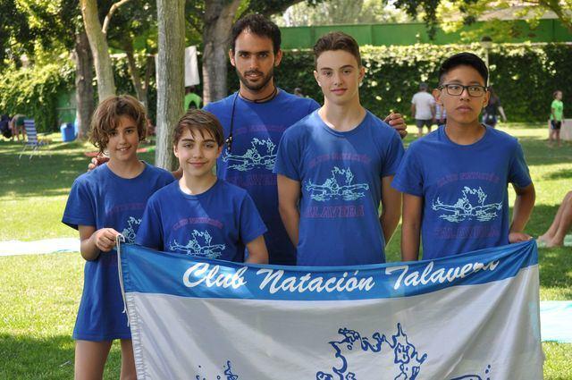 El Club Natación Talavera logra tres metales en el Regional Alevín