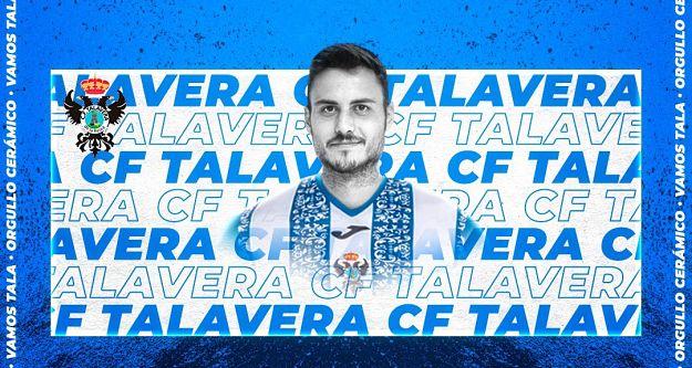 FÚTBOL | Álex Serrano rescinde su contrato con el CF Talavera